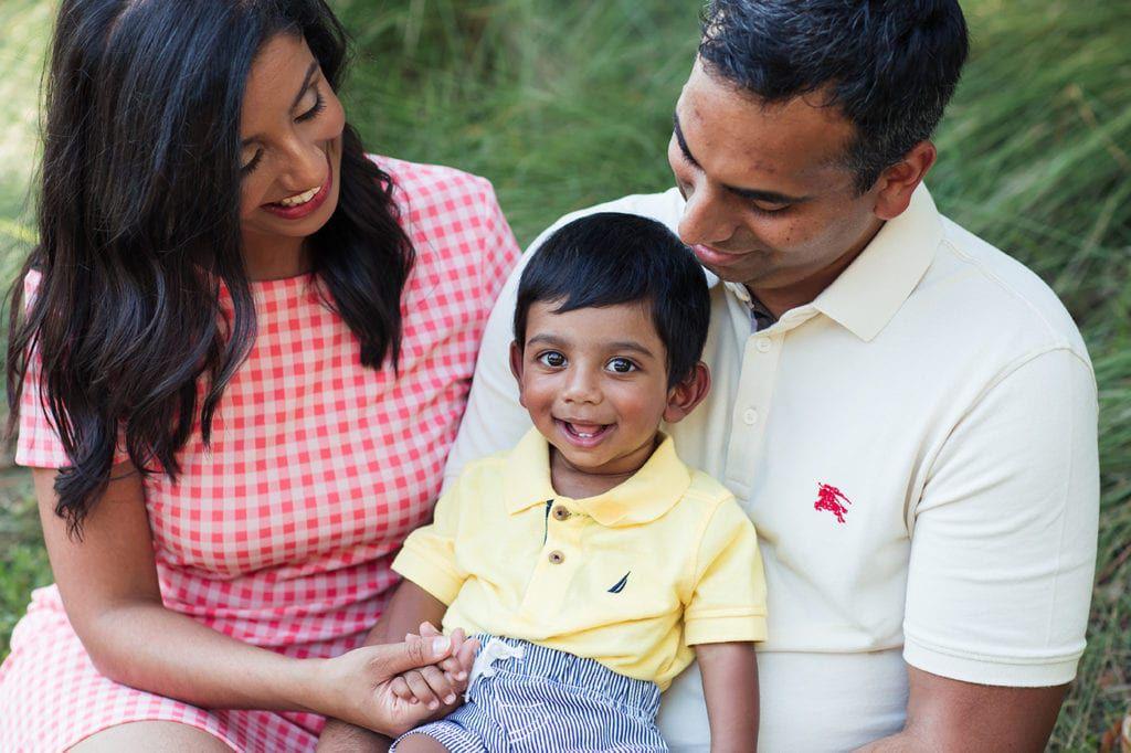 Dr. Mayuri Appareddy with family